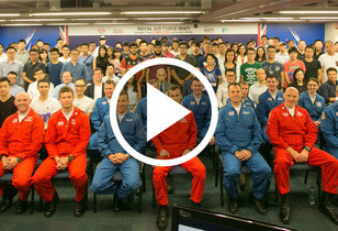 Royal Air Force (RAF) Red Arrows - Visit to HKU SPACE