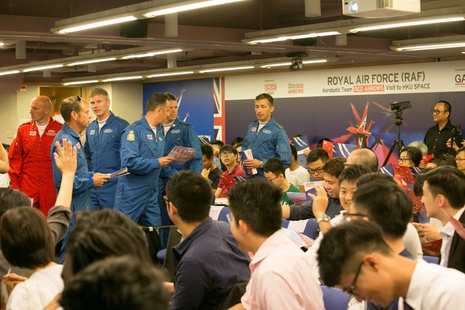 Royal Air Force (RAF) Red Arrows - Visit to HKU SPACE - photo 5