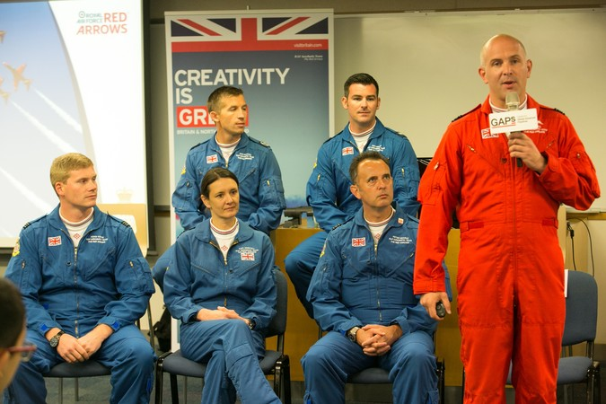 Royal Air Force (RAF) Red Arrows - Visit to HKU SPACE - photo 6