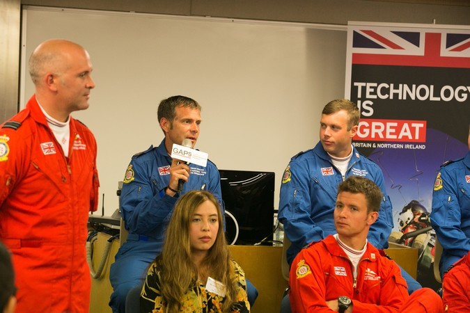Royal Air Force (RAF) Red Arrows - Visit to HKU SPACE - photo 9