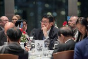 "International Dinner Forum: ""Why 'Glocal' Matters, HK?"" The importance of International Education - photo 34"