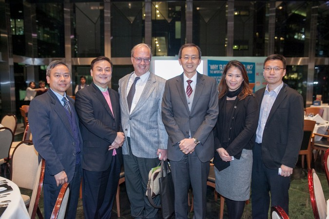 "International Dinner Forum: ""Why 'Glocal' Matters, HK?"" The importance of International Education - photo 2"