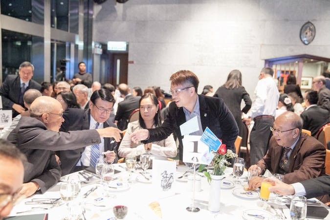 "International Dinner Forum: ""Why 'Glocal' Matters, HK?"" The importance of International Education - photo 14"