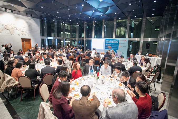 "International Dinner Forum: ""Why 'Glocal' Matters, HK?"" The importance of International Education - photo 20"