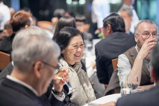 "International Dinner Forum: ""Why 'Glocal' Matters, HK?"" The importance of International Education - photo 27"
