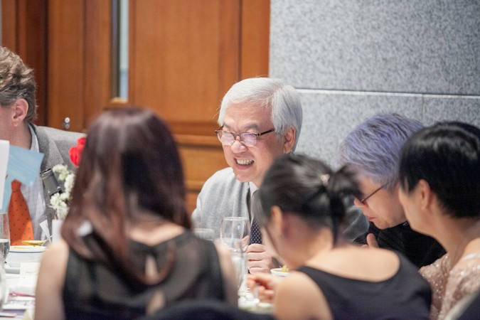 "International Dinner Forum: ""Why 'Glocal' Matters, HK?"" The importance of International Education - photo 29"