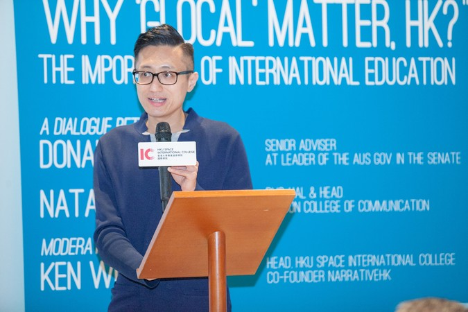 "International Dinner Forum: ""Why 'Glocal' Matters, HK?"" The importance of International Education - photo 31"