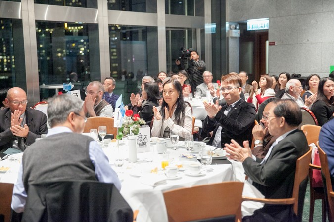 "International Dinner Forum: ""Why 'Glocal' Matters, HK?"" The importance of International Education - photo 40"