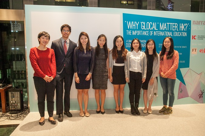 "International Dinner Forum: ""Why 'Glocal' Matters, HK?"" The importance of International Education - photo 41"