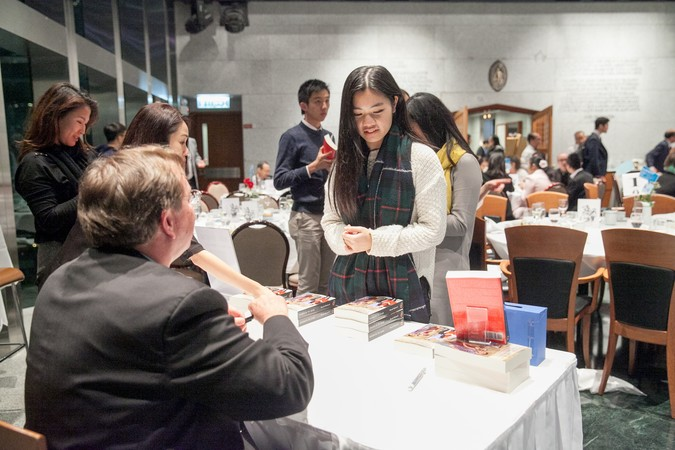 "International Dinner Forum: ""Why 'Glocal' Matters, HK?"" The importance of International Education - photo 43"
