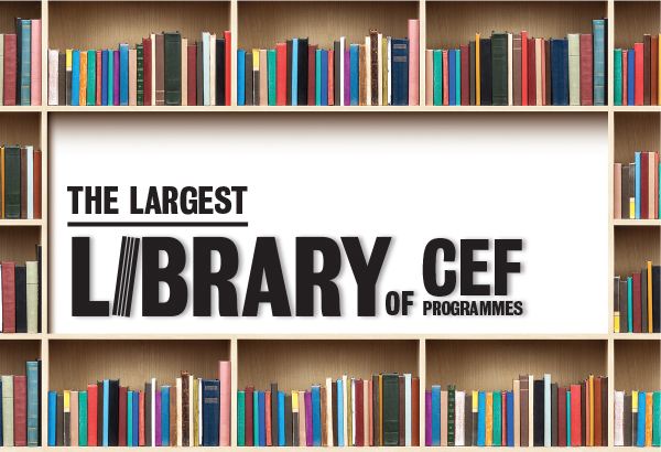 The Largest Library of CEF Programmes