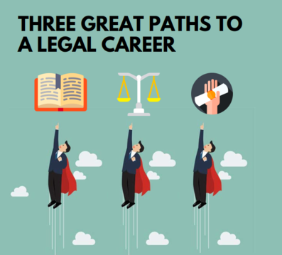 Three Great Paths to a Legal Career