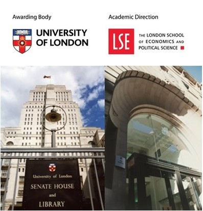 University of London Business Programmes - Academic Direction: The London School of Economics and Political Science (LSE) (BSc Accounting & Finance / BSc Banking & Finance / BSc Business & Management / BSc Economics & Management)