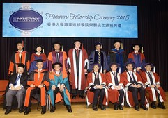 Honorary Fellowship Ceremony 2015