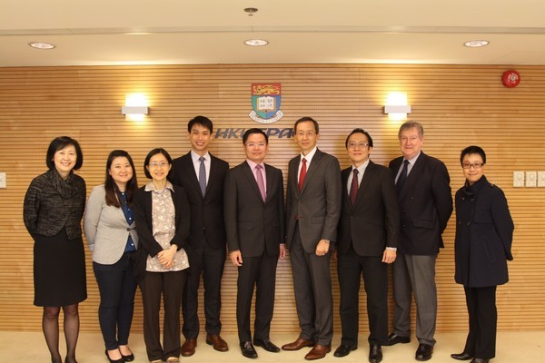 HKU SPACE received a delegation from the Ministry of Education, Singapore
