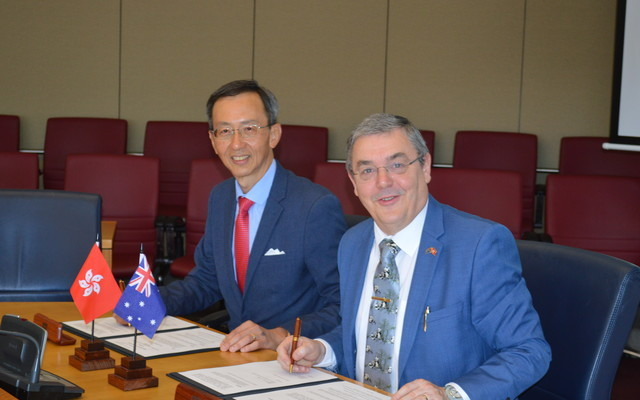 HKU SPACE signs MOU with Edith Cowan University of Australia