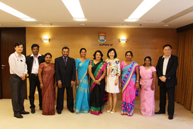 Group photo with delegation of National Transport Commission from Sri Lanka