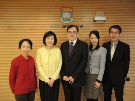 HKU SPACE received a delegation from the Public Transport Council of Singapore