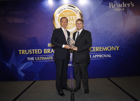 School wins acclaim at the Reader's Digest Awards 2016