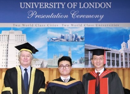 LLB Graduate with First Class Honours University of London