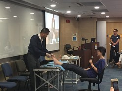 Foot reflexology talk image 7