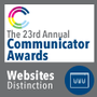 Communication Award - The 23rd Annual Communicator Awards
