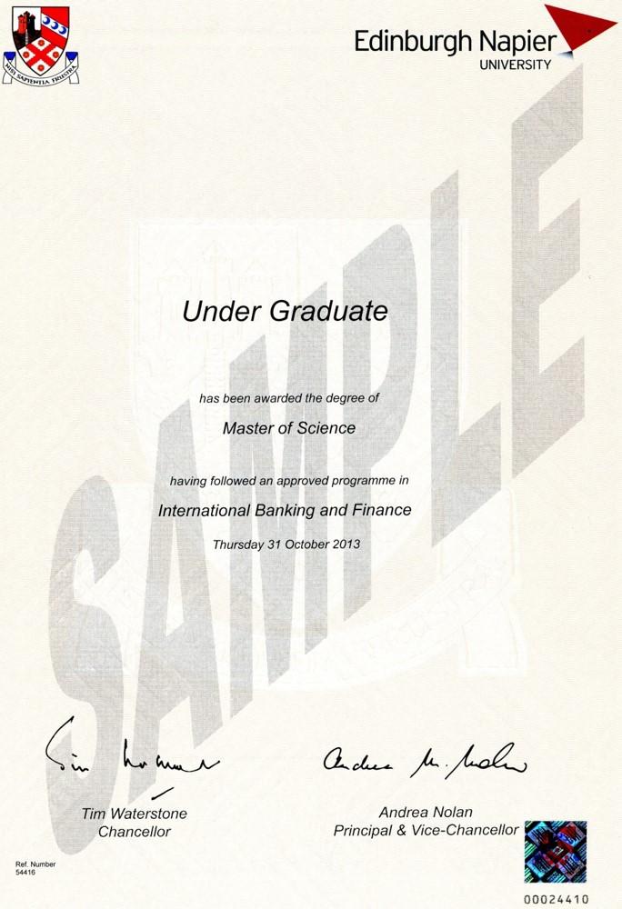 Dissertation Msc