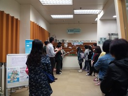 Library Visit at Fanling Public Library (16 April 2016)