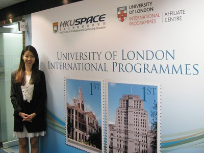 HKU SPACE Student beats 800 University of London candidates to gain global top spot