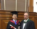 MSc in International Banking and Finance Graduate with Class Medal Award