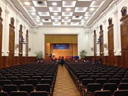 The Graduation Ceremony for the programmes was held in Loke Yew Hall of the University of Hong Kong (2016)