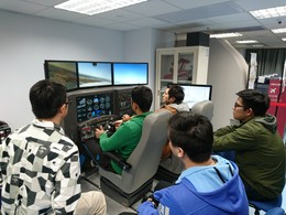 Flight simulation practice
