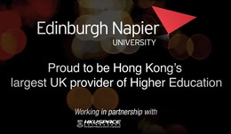 Edinburgh Napier University celebrating 20 years working in Hong Kong