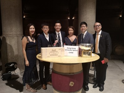 Congratulations! HKU SPACE wine students won the World Champion of the Left Bank Bordeaux Cup 2019 in France!