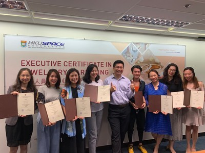 The first Executive Certificate in Jewellery Marketing Programme graduation celebration