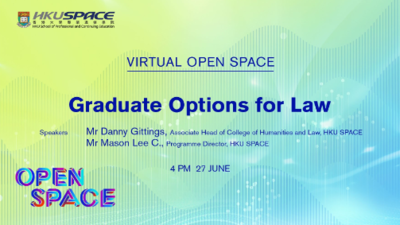 Virtual Open Space - Graduate Options for Law