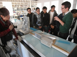 Firm visit to studio peizhu, an architecture firm)