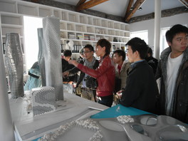 Student visit to MAD architecture design office in Beijing