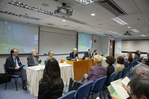 Four distinguished speakers from the world over at the seminar From Memory, Archives to Heritage: the UNESCO Memory of the World Programme held in November 2010