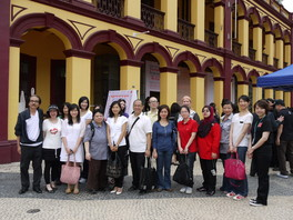 Mr. Simon Chu and Archival Studies students visit Macao Historical Archives in June 2011