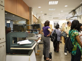 Visit Macao Historical Archives preservation and conservationin in June 2011