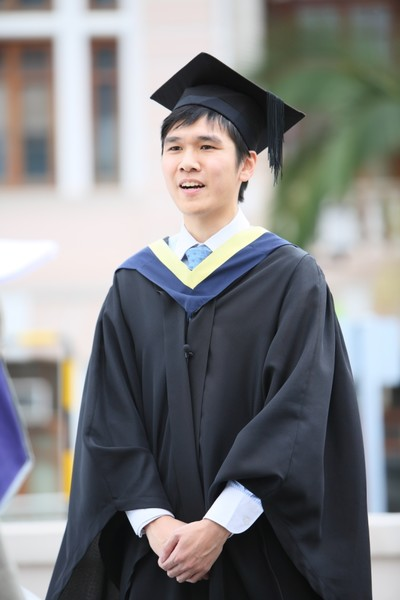 Mr Ho Chun Hin Martin (BSc Banking and Finance)